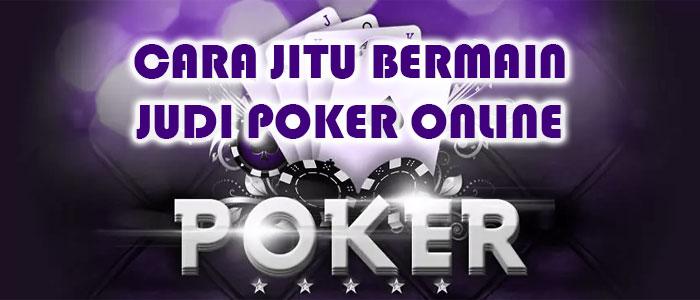 Artikel Permainan Dasar Poker Online Jitu Dan Terbaik